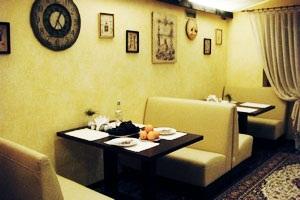 Ресторан в отеле тихая гавань новый свет